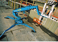 Spider Boom Lifts