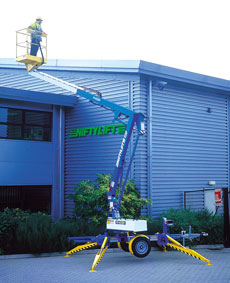 12m Electric/Bi-Energy Boom & Trailer Mounted Lifts - view bigger image