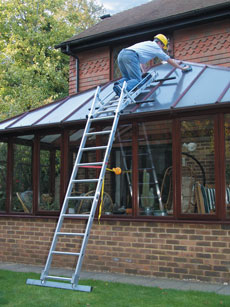 Conservatory Roof Access System - view bigger image
