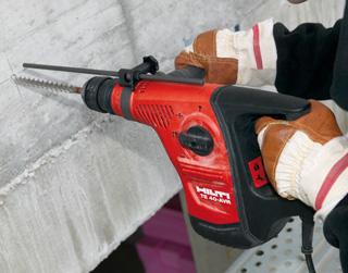 Heavy-Duty Hammer Driller