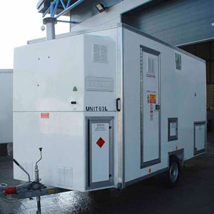 Single/Twin De-contamination Unit