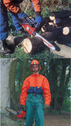 Chainsaws and Safety Kit