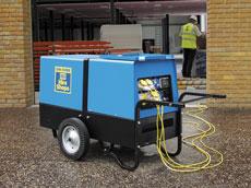 10kVA Silenced Diesel Generator