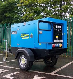 20kVA Silenced Diesel Generator