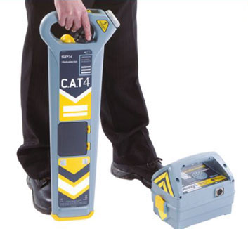 Cable & Pipe Locator CAT 4