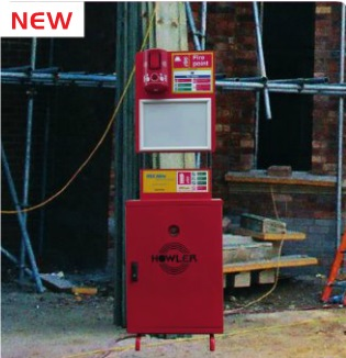 RF Fire Point Trolley & Extinguisher System