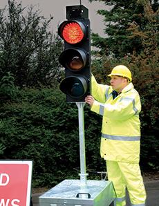Mobile Traffic Lights