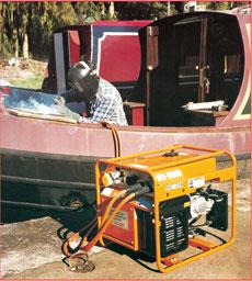 150amp Petrol Welder Generator