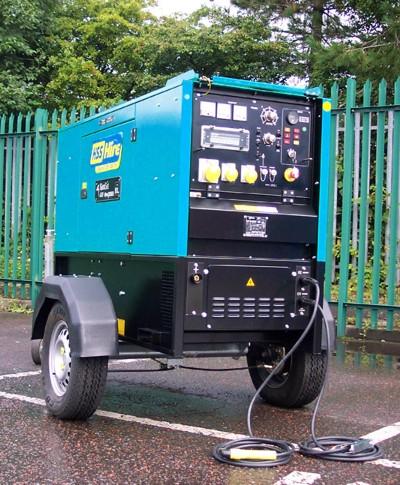 370amp Pipemaster Welder Generator