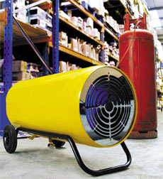 LPG Blower Heaters