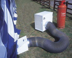 LPG Ducted Heater
