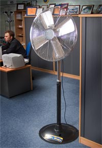 Pedestal Mount Fan