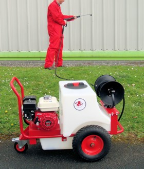 Mini Pressure Washer & Bowser