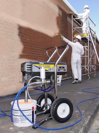 Large Volume Airless Sprays