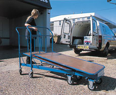 Nesting Platform Truck