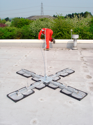Roof Man Anchor