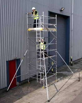 Alloy - Full Width 1.45m x 1.8m Towers